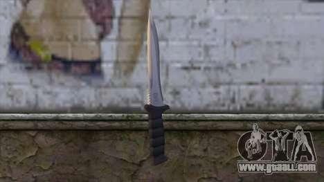 Knife from Resident Evil 6 v1 for GTA San Andreas second screenshot