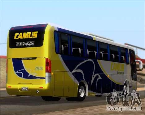 Busscar Vissta Buss LO Mercedes Benz 0-500RS for GTA San Andreas bottom view