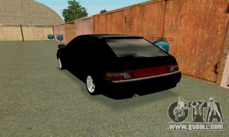 VAZ 21123 Turbo for GTA San Andreas left view
