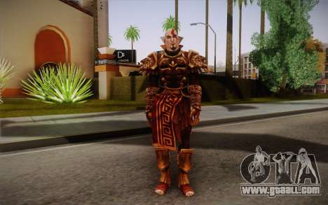 Kratos God Armor for GTA San Andreas