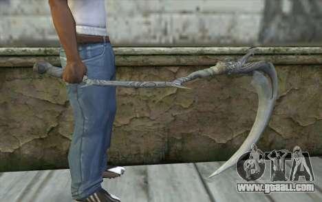 Orisis from DmC: Devil May Cry for GTA San Andreas third screenshot