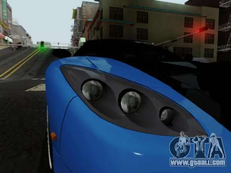 Honda NSX VeilSide for GTA San Andreas back view
