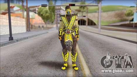 Scorpion Skin v2 for GTA San Andreas