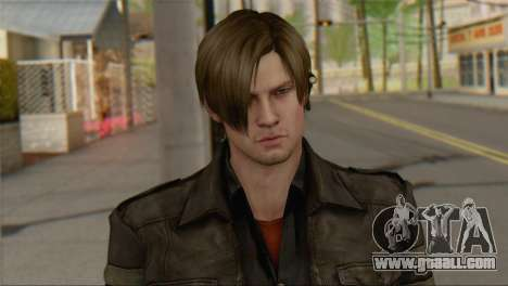 Leon .S.Kennedy v1 for GTA San Andreas third screenshot