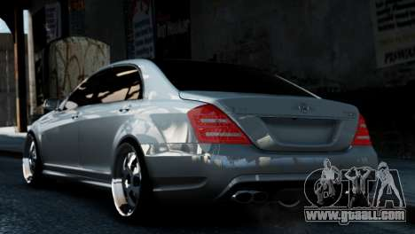 Mercedes-Benz S65 W221 AMG v1.3 for GTA 4 left view