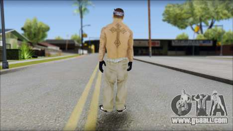 OG Chicano Skin for GTA San Andreas second screenshot