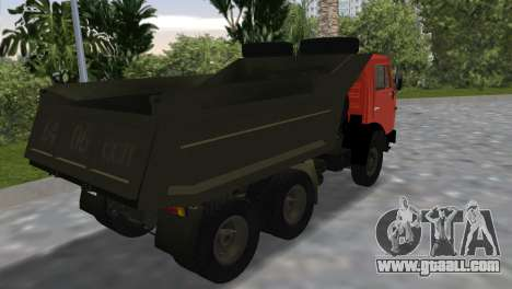 KamAZ 5511 for GTA Vice City left view