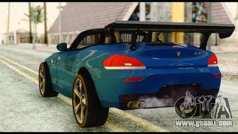 BMW Z4 sDrive28i 2012 for GTA San Andreas left view