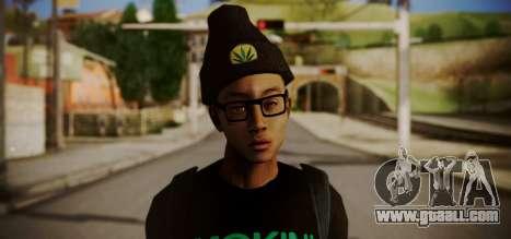 Smoking Super Choronic for GTA San Andreas third screenshot