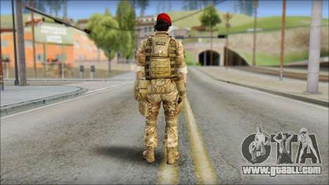 Desert Vlad GRU from Soldier Front 2 for GTA San Andreas second screenshot