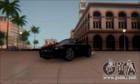 Jaguar XK 2007 for GTA San Andreas