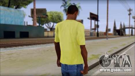 Waffle T-Shirt for GTA San Andreas second screenshot