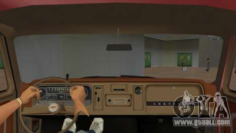 Chevrolet C10 for GTA Vice City right view