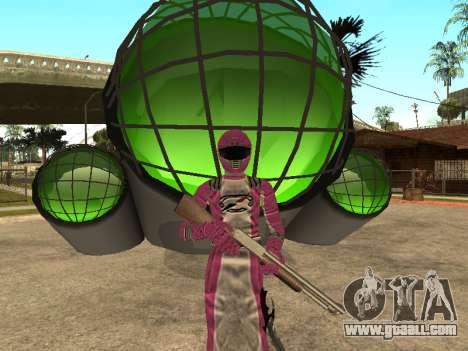 Power Rangers Operation Overdrive for GTA San Andreas tenth screenshot