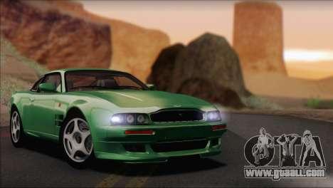 Aston Martin V8 Vantage V600 1998 for GTA San Andreas