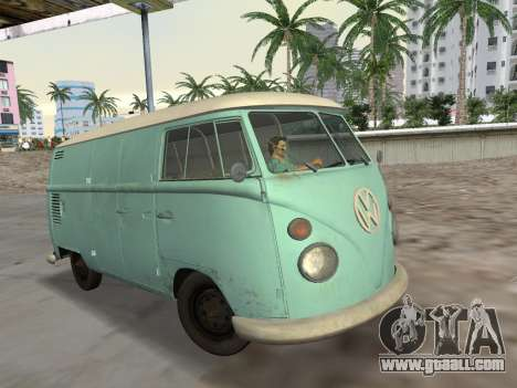 Volkswagen Type 2 T1 Van 1967 for GTA Vice City