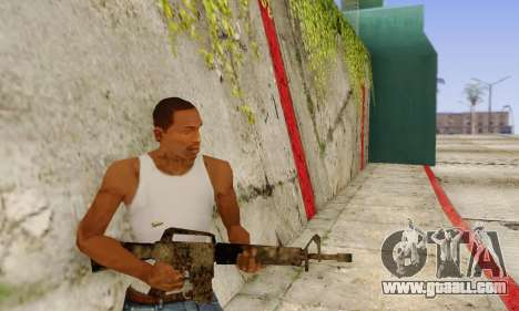 Cutscene M16 from Stowaway Conversion for GTA San Andreas third screenshot