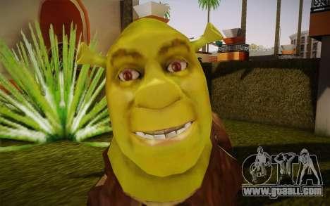 Shrek for GTA San Andreas third screenshot