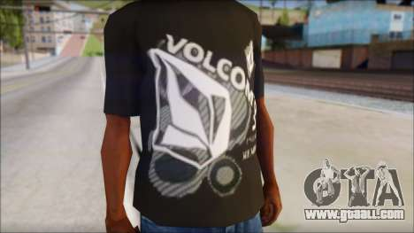 Volcom T-Shirt for GTA San Andreas third screenshot