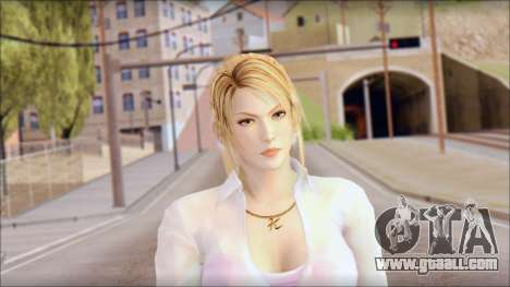 Sarah from Dead or Alive 5 v4 for GTA San Andreas third screenshot