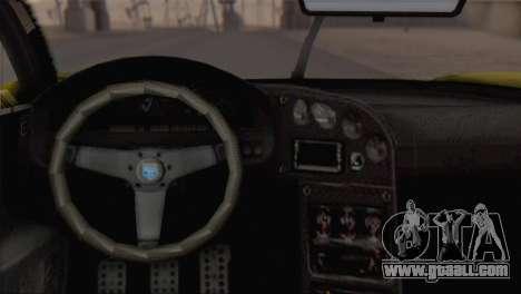 GTA V Turismo R for GTA San Andreas right view