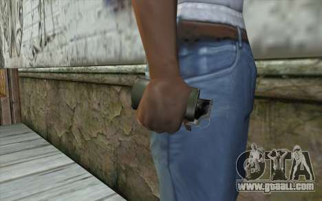 Smoke Grenade for GTA San Andreas third screenshot