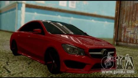 Mercedes-Benz CLA 250 for GTA San Andreas left view