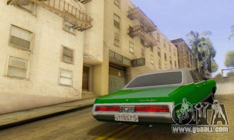Chrysler New Yorker 1971 for GTA San Andreas left view