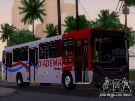 Comil Svelto 2008 Volksbus 17-2 Benfica Diadema for GTA San Andreas bottom view