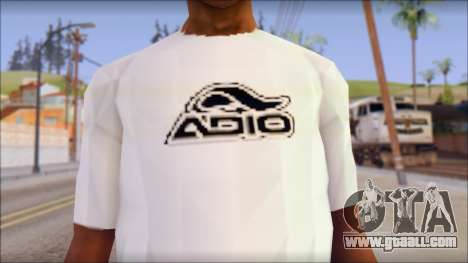 Adio T-Shirt for GTA San Andreas third screenshot
