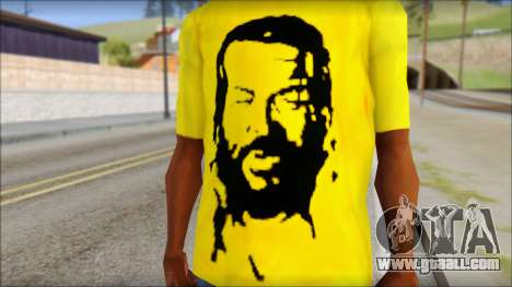 Bud Spencer And DAnusKO T-Shirt for GTA San Andreas third screenshot