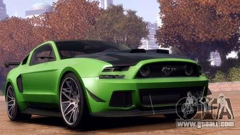 Ford Mustang GT 2014 Custom Kit for GTA 4