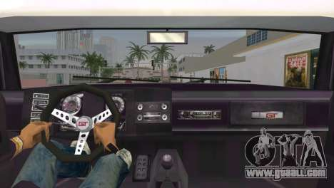 Ford XB GT Falcon Hardtop 1973 for GTA Vice City back left view