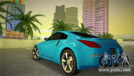 Nissan 350Z for GTA Vice City left view