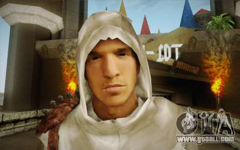 Altair from Assassins Creed for GTA San Andreas third screenshot