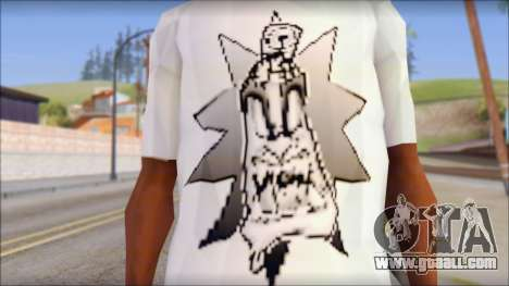 Spray Can Comic T-Shirt for GTA San Andreas third screenshot