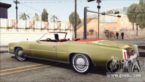 Cadillac Eldorado Stock for GTA San Andreas left view