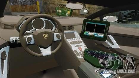 Lamborghini Aventador LP700-4 v2 [RIV] for GTA 4 back view
