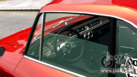 Lancia Fulvia HF for GTA 4 right view