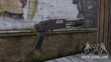 Sawnoff Shotgun from GTA 5 v2 for GTA San Andreas second screenshot