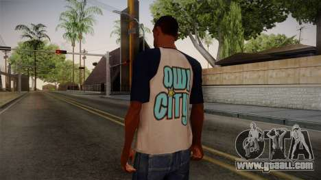 Owl City T-Shirt for GTA San Andreas second screenshot