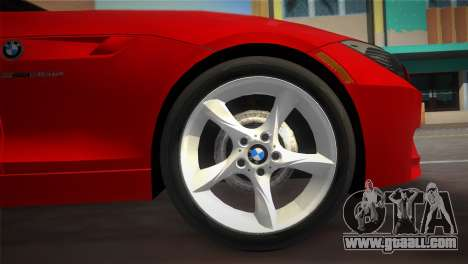 BMW Z4 sDrive35is for GTA Vice City right view