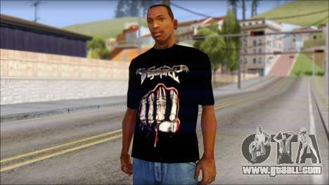 Dragonforce In Your Face Fan T-Shirt for GTA San Andreas