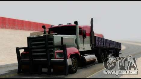 Semitrailer MAZ 93866 for GTA San Andreas left view