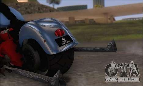 Boss Hoss v8 8200cc for GTA San Andreas right view