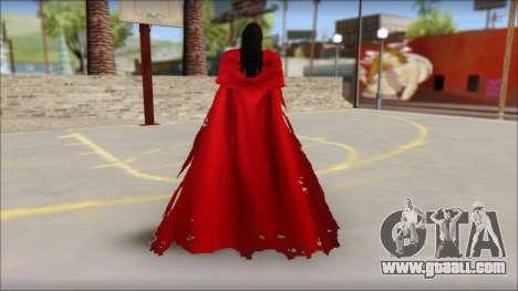 Final Fantasy VII - Vincent for GTA San Andreas second screenshot