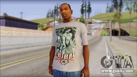 Tribal tee Mouse Inked White T-Shirt for GTA San Andreas
