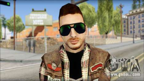 Biker from Avenged Sevenfold for GTA San Andreas third screenshot