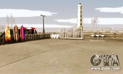 New Santa Maria Beach v1 for GTA San Andreas third screenshot