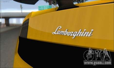 Lamborghini Gallardo LP570 Superleggera for GTA San Andreas